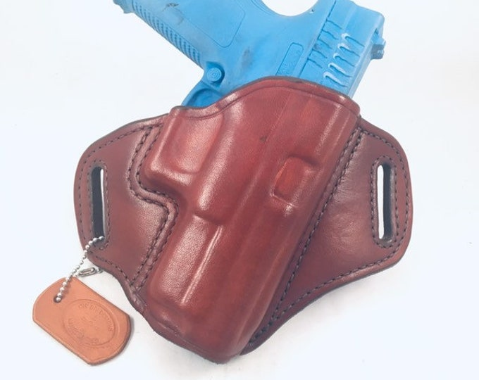 Springfield XD .40/9MM Full size - Handcrafted Leather Pistol Holster