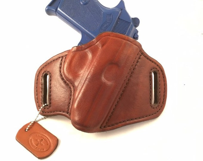 Walther PPK and PPK/S - Handcrafted Leather Pistol Holster