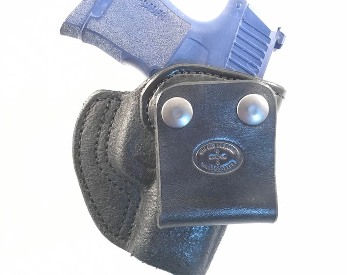 SIG 365 IWB - Handcrafted Leather Pistol Holster