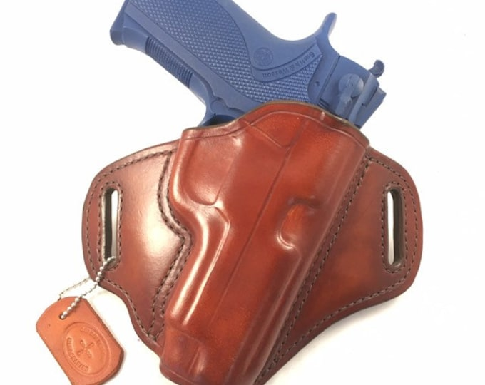 S & W 4006 TSW - Handcrafted Leather Pistol Holster