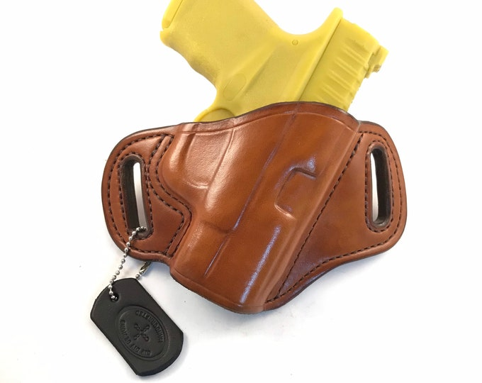 Springfield Hellcat - Handcrafted Leather Pistol Holster