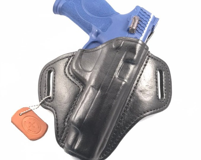 "S & W MP 5"" 2.0 40/9 - Handcrafted Leather Pistol Holster"