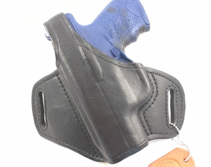 Walther PPS or PPS M2 with retention strap - Handcrafted Leather Pistol Holster