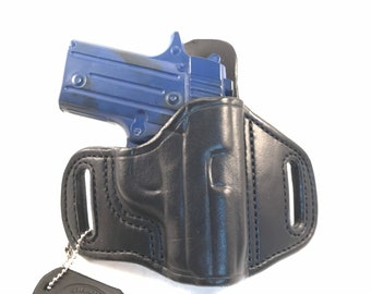 SIG p238 (zero Cant) * Ready to Ship * - Handcrafted Leather Pistol Holster