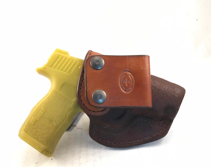 SIG 365 XL IWB - Handcrafted Leather Pistol Holster