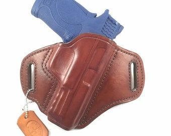 S & W MP 380 Shield EZ - Handcrafted Leather Pistol Holster