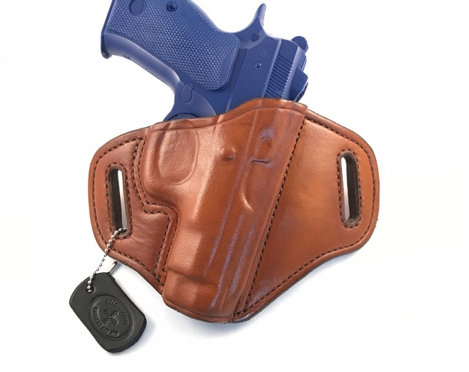 CZ 75 D Compact PCR - Handcrafted Leather Pistol Holster