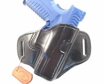 Springfield XDM 3.8 - Handcrafted Leather Pistol Holster
