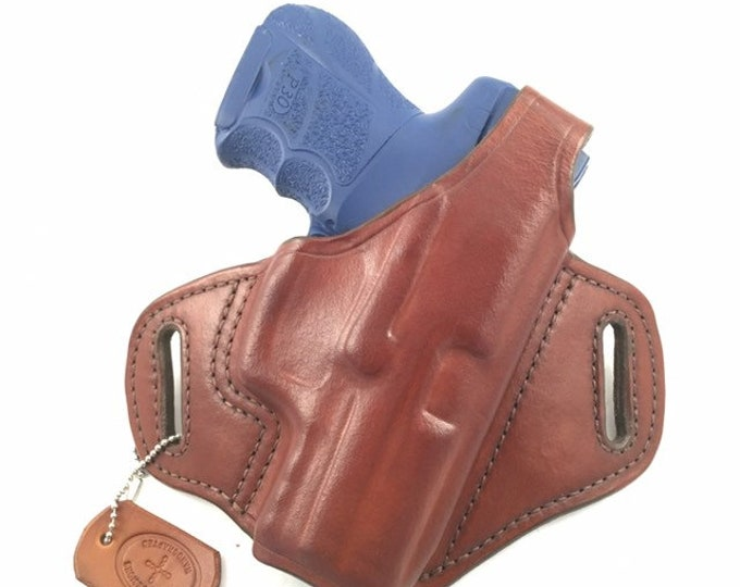 HK P30 SK with retention strap - Handcrafted Leather Pistol Holster