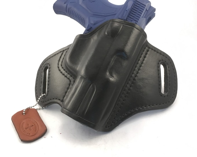 Ruger American 9mm Compact - Handcrafted Leather Pistol Holster