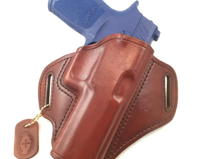 SIG p320 Full size - Handcrafted Leather Pistol Holster