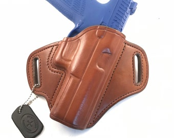 CZ P-10 F * Ready to Ship * - Handcrafted Leather Pistol Holster