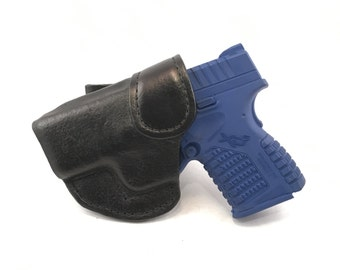 Springfield XDS 3.3 IWB - Handcrafted Leather Pistol Holster