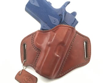 """1911 3"""" - Handcrafted Leather Pistol Holster"""