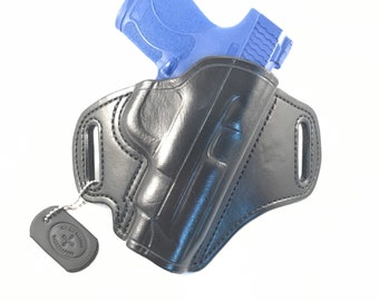 """S & W Shield 2.0 4"""" bbl 9MM/.40 - Handcrafted Leather Pistol Holster"""