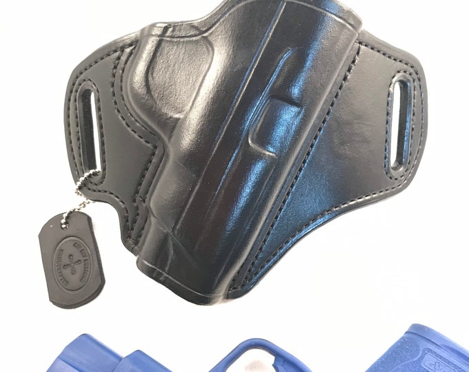 """S&W Shield 2.0 4"""" barrel * Ready to Ship * - Handcrafted Leather Pistol Holster"""