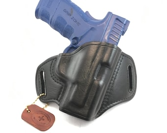 Springfield XD MOD 2 .45 Sub-Compact - Handcrafted Leather Pistol Holster