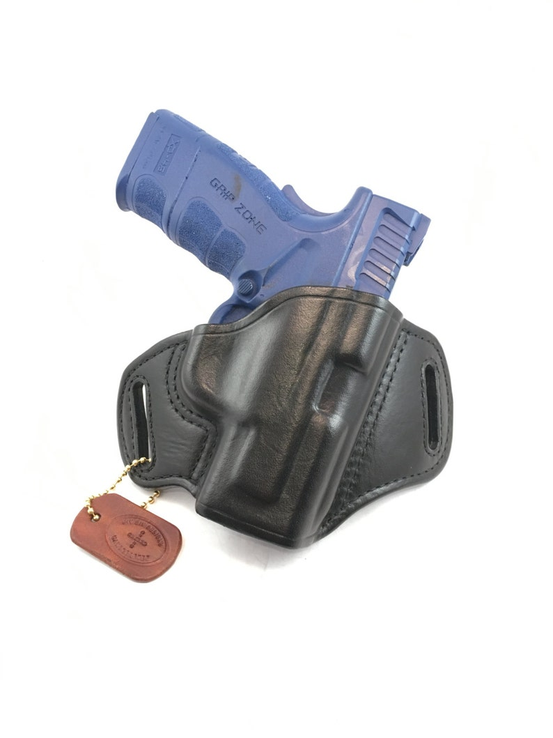 Springfield XD MOD 2  45 Sub-Compact - Handcrafted Leather Pistol Holster