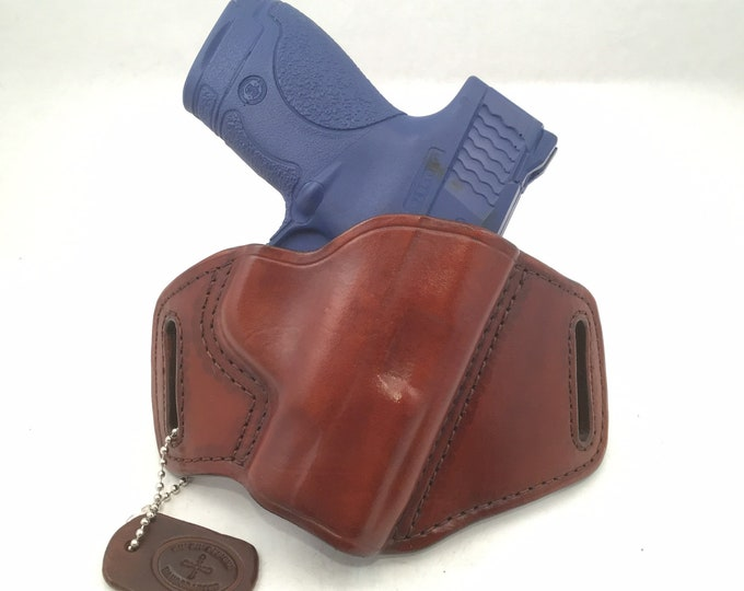 S & W Shield 9MM/.40 - Handcrafted Leather Pistol Holster