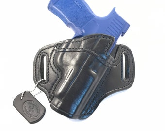 SIG p365 XL Optic Cut * Ready to Ship * - Handcrafted Leather Pistol Holster