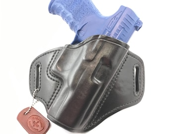 """Walther PPQ 4"""" - Handcrafted Leather Pistol Holster"""