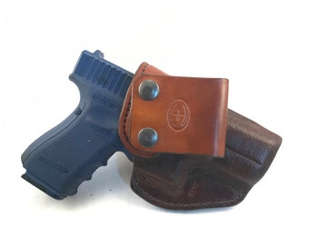 G19/ G23 / G45 IWB - Handcrafted Leather Pistol Holster