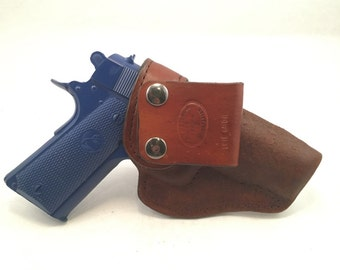 1911 Commander IWB - Handcrafted Leather Pistol Holster