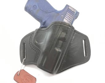 S & W MP Shield 9MM/.40 - Handcrafted Leather Pistol Holster