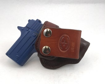 SIG p238 IWB - Handcrafted Leather Pistol Holster