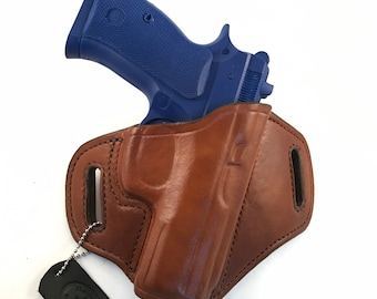 CZ 75 P-01 - Handcrafted Leather Pistol Holster
