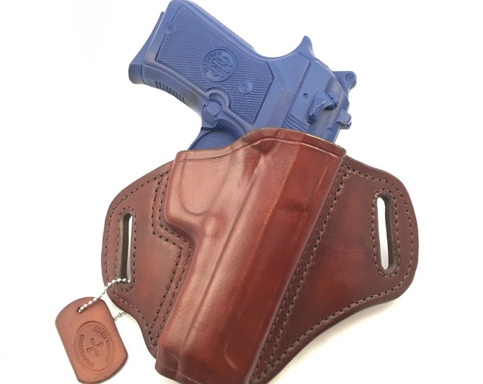 Beretta 92FS Compact - Handcrafted Leather Pistol Holster