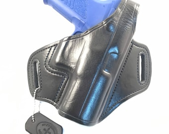 CZ P-07 with retention strap - Handcrafted Leather Pistol Holster