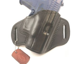 Springfield XD Sub-Compact .40/9MM (Mod 1)- Handcrafted Leather Pistol Holster