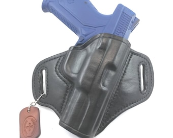 Ruger American 9mm Duty - Handcrafted Leather Pistol Holster