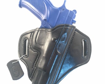 CZ 75 B - Handcrafted Leather Pistol Holster