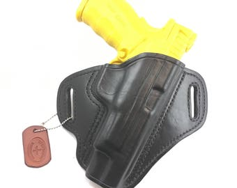 """Springfield XD Mod 2 .40/9/.45 Full size 5"""" - Handcrafted Leather Pistol Holster"""