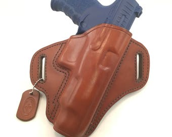 """Walther PPQ 5"""" - Handcrafted Leather Pistol Holster"""