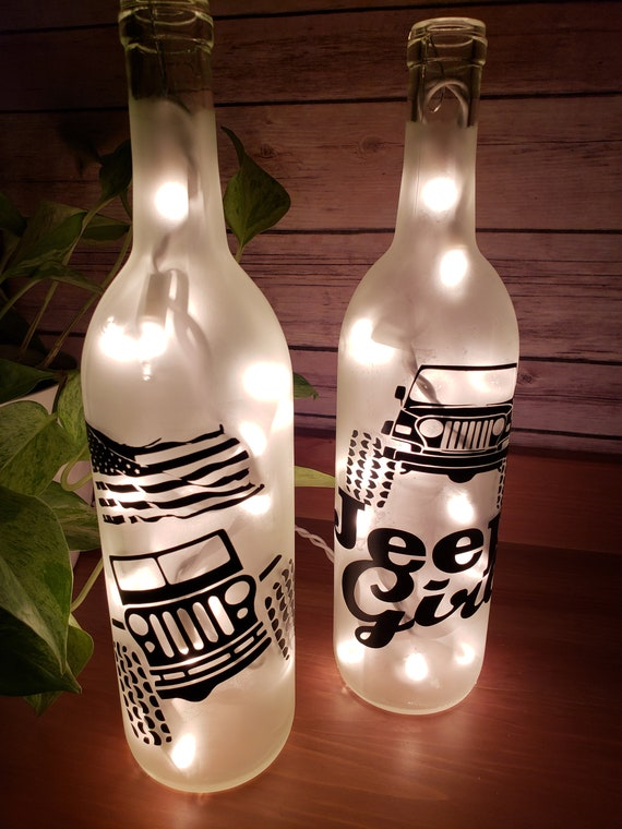 Jeep Lovers Wine Bottle Lamps Choose From The With