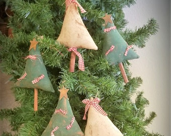 primitive christmas tree ornaments primitive ornies tree bowl fillers ofg faap farmhouse ornaments country christmas rustic ornies - Primitive Country Christmas Decorations