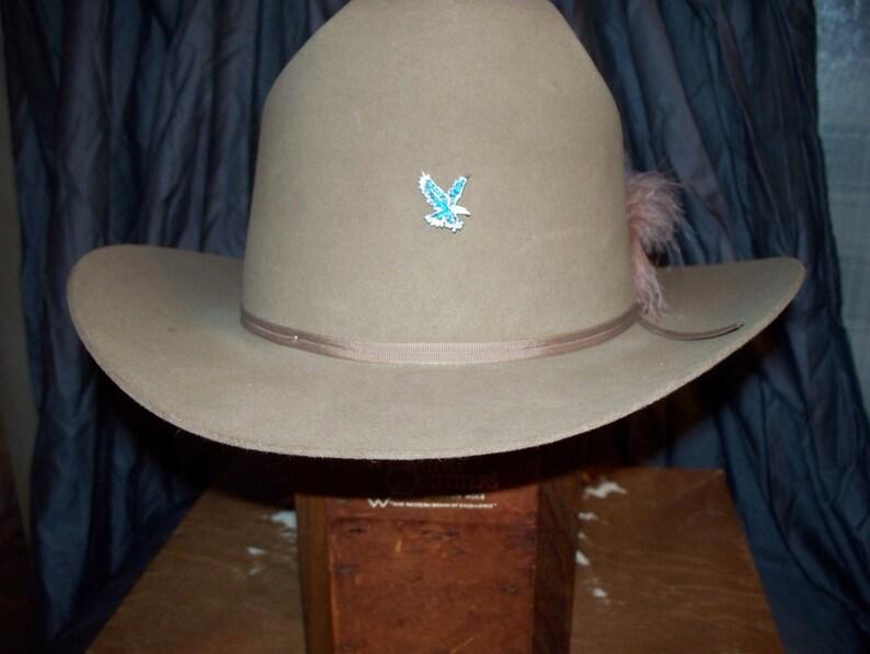 5d1c76302c039 Vintage Resistol 3X Beaver Felt Cowboy Hat