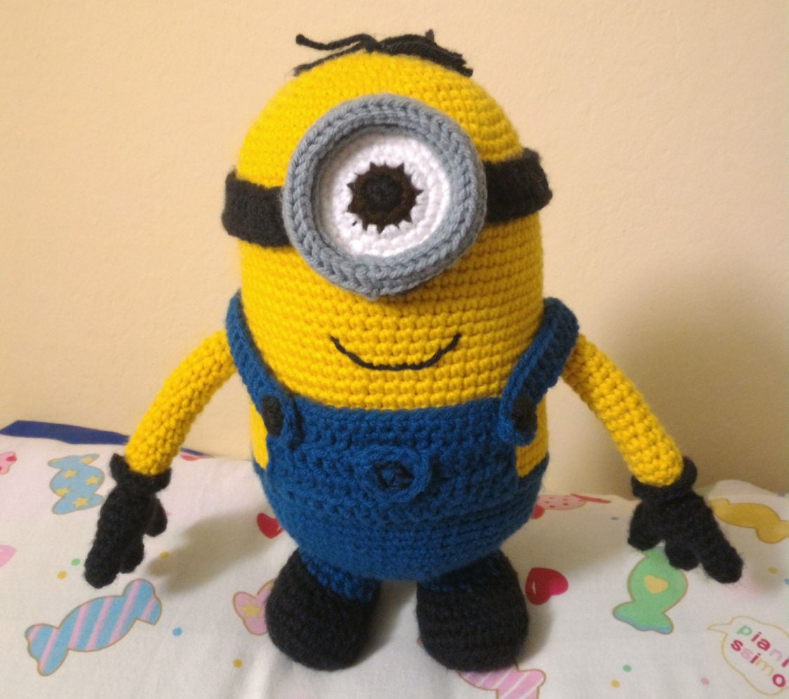 Minion Amigurumi Crochet Pattern Despicable Me Etsy