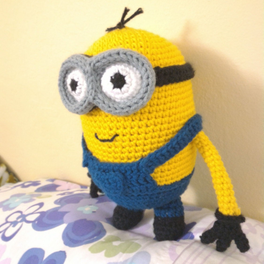 Amigurumi Crochet Minion Pattern Two Eyed Despicable Me Etsy