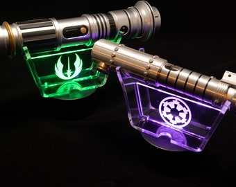 LED Lightsaber Stand