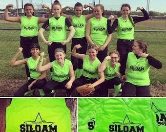 9ad99077680 Softball Girls Jersey, sleeveless jersey, sports team, jersey for teams