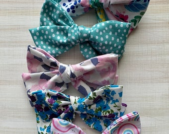 red cotton bow leopard cotton bow toddler hairbands classic hairbows tux school bows girls headbands linen hairbows Cotton pinch bows