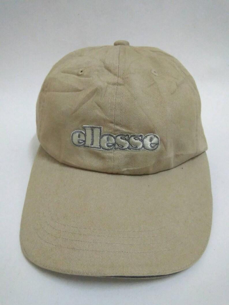 d30d0cc453f Rare Vintage ELLESSE Hat Cap embroidered logo 22