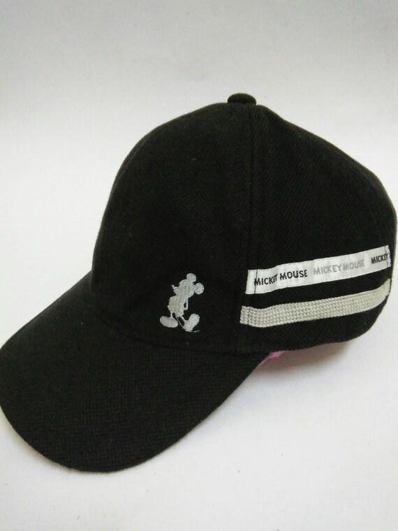 Mickey Mouse Cap Vintage Mickey Mouse Tokyo Disneyland Walt Disney Cap Mickey Mouse Made In Japan Vintage Wool Hat