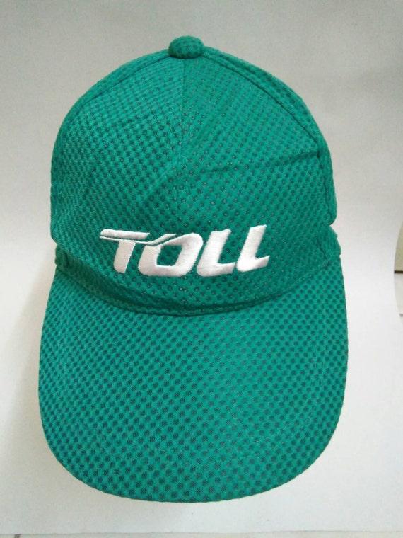 Rare Vintage MIZUNO Hat Cap TOLL cap sport cap embroidered  5c674ce45ff