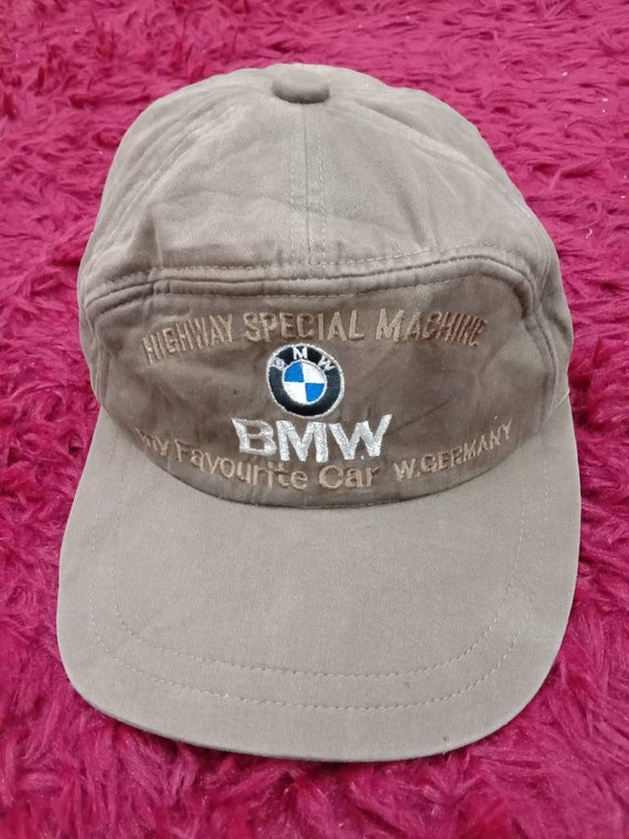 a0f55a5ef8a Rare Vintage BMW hat Cap Highway special machine My favorite