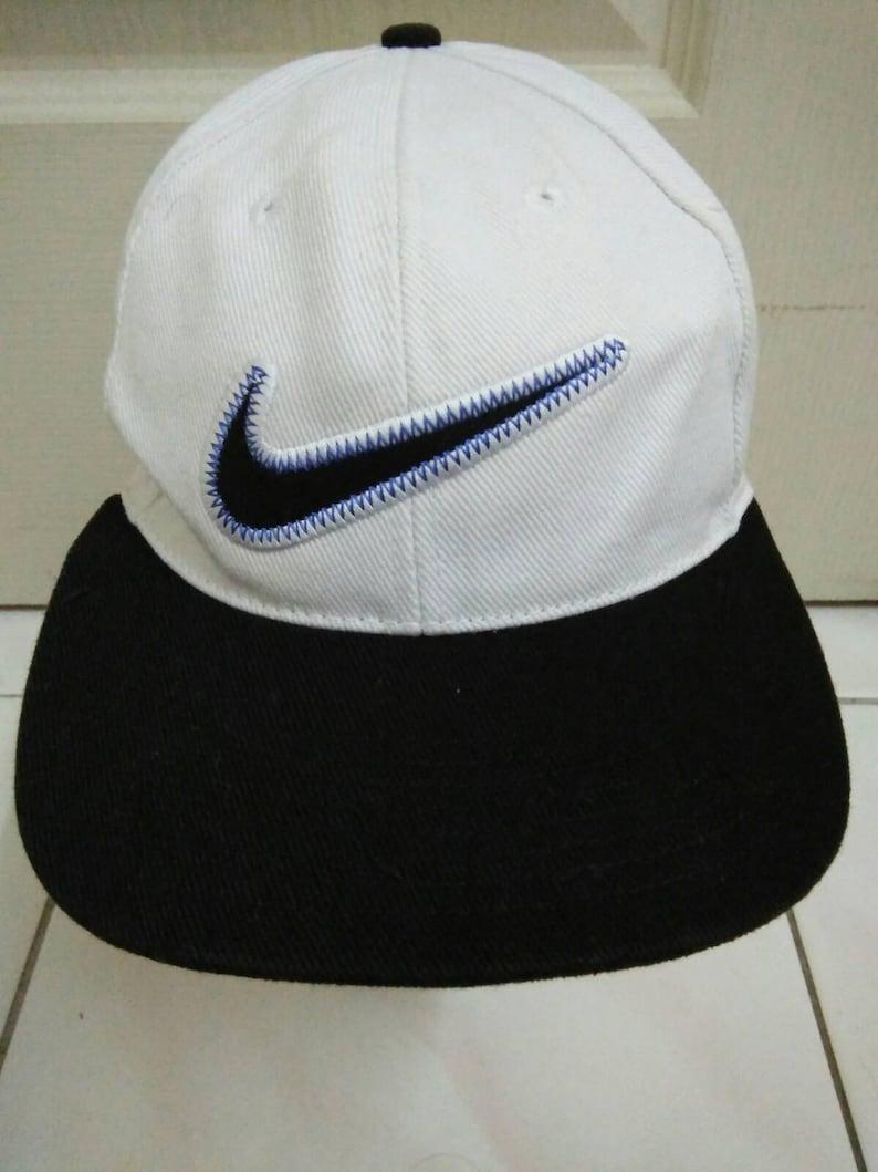 9ede9b4b62a Rare Vintage NIKE hat cap nike big logo nice hipster